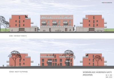 Bauprojekt: Wohnanlage Hasbergen-Gaste